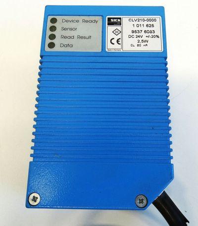 SICK CLV210-0000  CLV2100000 Nr. 1011625 Barcode Scanner -used- – Bild 3