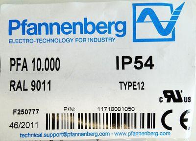 Pfannenberg PFA 10.000  PFA10.000 Austrittsfilter -unused/OVP- – Bild 3