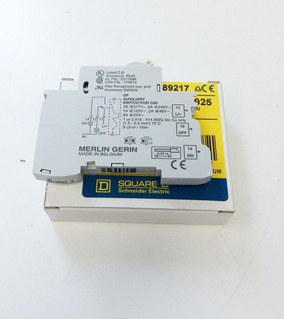 Schneider Electric Square D MG26925 Auxiliary Switch für CN60N  -unused- in OVP – Bild 1