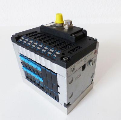 Festo CPV10-GE-FB-8 18252 + 5x Magnetventile -used- – Bild 1