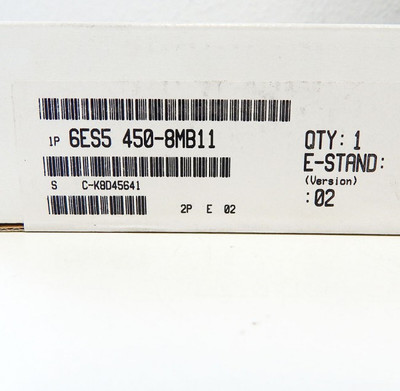 Siemens Simatic S5 6ES5450-8MB11 Digital-Output-Module E:02 -sealed - in OVP – Bild 2