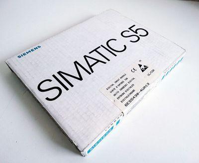 Siemens Simatic S5 6ES5430-4UA13  6ES5 430-4UA13 E-Stand: 05 -sealed- – Bild 1