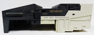 10x Siemens Simatic S7 6ES7193-4CD20-0AA0 E: 02  Terminal Module -used- – Bild 2