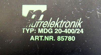 MURR Elektronik MDG 20-400/24 24VDC 20A Art. Nr. 85780 -used- – Bild 3