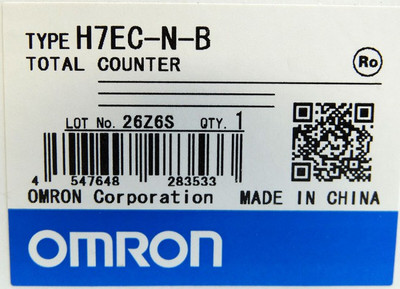 Omron H7EC H7EC-N-B Total Counter -unused/OVP- – Bild 3