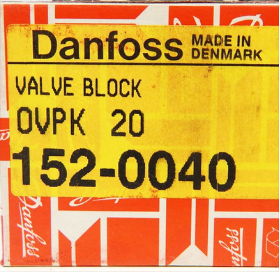 Danfoss OVPK 20 Ventil-Block 152-0040 - unused - in OVP – Bild 2