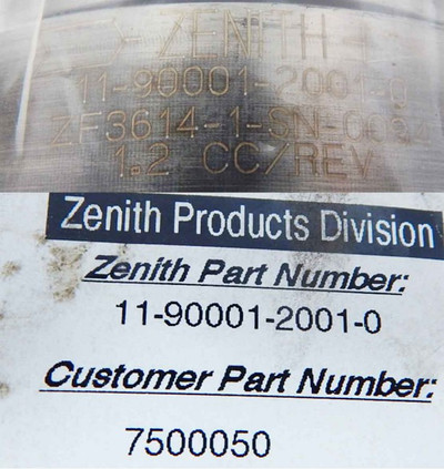 Zenith Pumps ZF3614-1-SN-0094-unused- – Bild 3