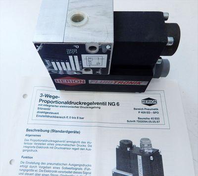 Herion Fluidtronik 4089210 Proportionaldruckregelventil  - unused - in OVP – Bild 2