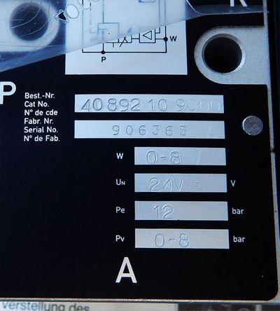 Herion Fluidtronik 4089210 Proportionaldruckregelventil  - unused - in OVP – Bild 3