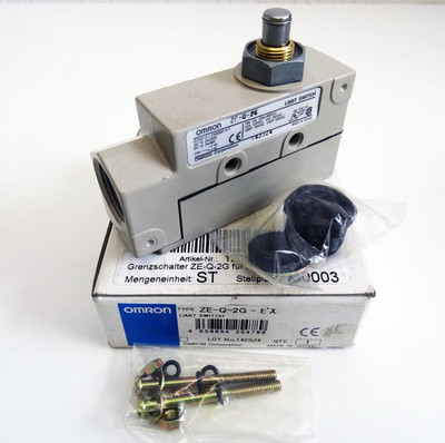 Omron ZE-Q-2G  ZEQ2G Grenzschalter/Limit Switch -unused/OVP- – Bild 1