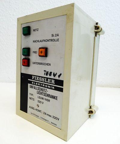 FIESSLER Elektronik Unfallschutz-Lichtschranke LSUW/NSR 220V -used- – Bild 1