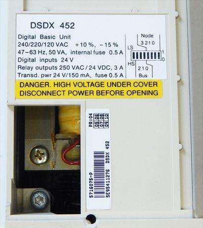 ABB Master  DSDX 452  Basic I/O Unit  Halterung fehlt   - used - – Bild 4