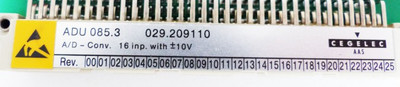 AEG MODICON CEGELEC AAS ADU 085.3 ADU085.3 029.209110 A/D-Converter -unused-  – Bild 3