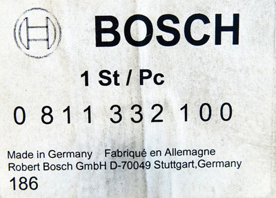 BOSCH 0 811 332 100  0811332100 5-315 bar Stromregelventil -unused/OVP- – Bild 3