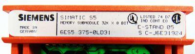 Siemens 115U-CPU 6ES5942-7UB11 E:6 + Ram-Modul 6ES5375-0LD31 E: 5 - used - – Bild 3