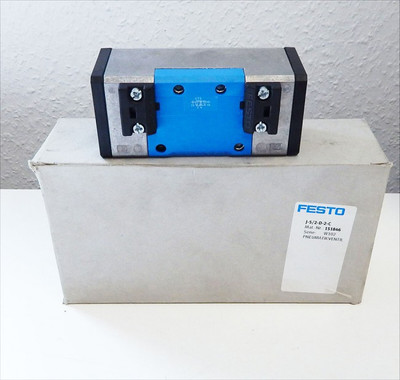Festo J-5/2-D-2-C  Pneumatik-Ventil  No.:151846  -unused - in OVP – Bild 1