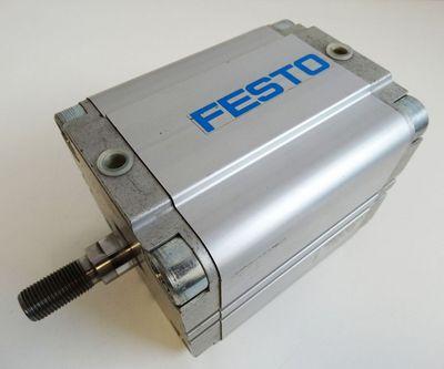 Festo ADVU-80-80-A-P-A Nr. 156048 R7E8 pmax 10 bar Pneumatikzylinder -used- – Bild 1