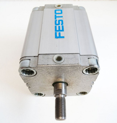 Festo ADVU-80-80-A-P-A Nr. 156048 R7E8 pmax 10 bar Pneumatikzylinder -used- – Bild 2