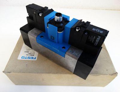 Festo MEBH-5/3G-D-2-ZSR-C Mat. Nr. 184505 Magnetventil -unused/OVP- – Bild 1