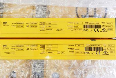 Sick C4000 eco Sender & Empfänger C40S-0603AA310 & C40E-0603AN310 - used - – Bild 3