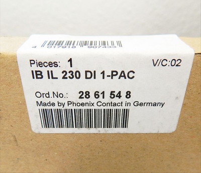 PHOENIX CONTACT IB IL 230 DI 1 PAC  No. 2861548  -sealed- – Bild 2