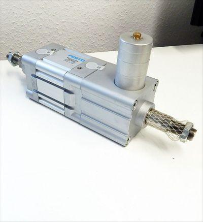 Festo DNC-80-10-PPV-A-Q-S2-KP Zylinder & Feststellpatrone KP-25-5000  - unused - – Bild 2