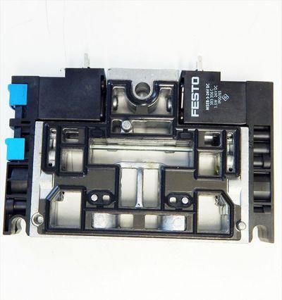 FESTO  CPV18-M1H-2X3-OLS-1/4   Magnetventil  No:163188  - used - – Bild 3