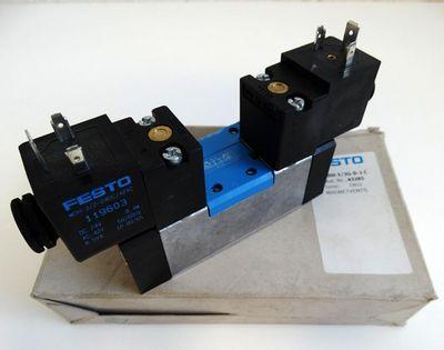 Festo MDH-5/3G-D-1C Mat. Nr. 43285 Magnetventil -unused/ OVP- – Bild 1