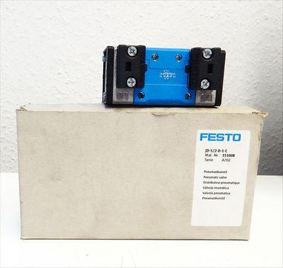 Festo JD-5/2-D-1C Nr.:151008 Pneumatikventil  -unused/OVP- – Bild 1