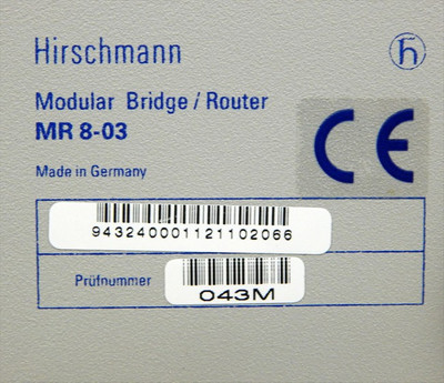 Hirschmann Modular Bridge/Router Grundgerät MR8-03&ETN10515-R AC -unused- in OVP – Bild 5