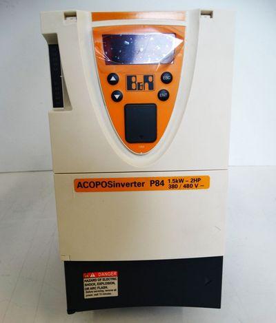 B&R Automation ACOPOSinverter P84 1.5kW-2HP 8I84T400150.010-1 V3.3 -unused- – Bild 2