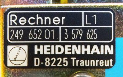 Heidenhain LE 355 C LE355C Id. Nr. 25481999 mit Stromver.+Regelkreis+Rechner -used-  – Bild 5