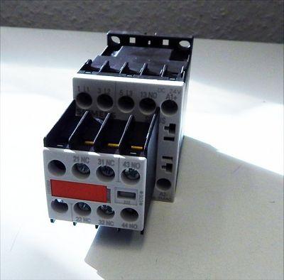 Siemens 3RT1016-1BB44-3MA0 Schütz E-Stand: 05 & Hilfsschalterblock -unused/OVP- – Bild 1