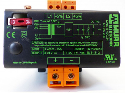 MURR Elektronik MNG 5-400/24 MNG5-400/24 Art.-Nr. 85206 -used-  – Bild 3