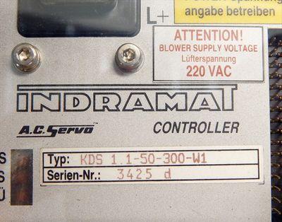 Indramat AC-Servo Conroller KDS 1.1-50-300-W1  220V - unused - in OVP – Bild 2