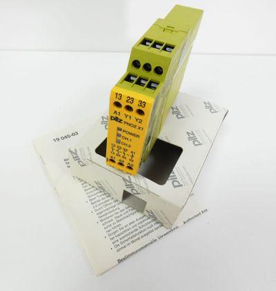 Pilz PNOZ X1 24VAC/DC 3n/o 1n/c PNOZX124VAC/DC 3n/o1n/c 774300 -unused/OVP- – Bild 1