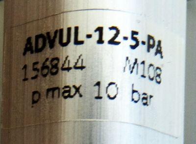 Festo ADVUL-12-5-PA Mat. Nr. 156844 Kurzhubzylinder -unused/OVP- – Bild 4