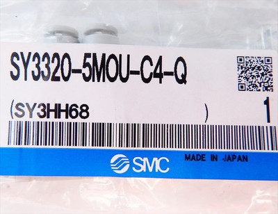 SMC SY3320-5MOU-C4-Q Magnetventil  - unused - in OVP – Bild 3