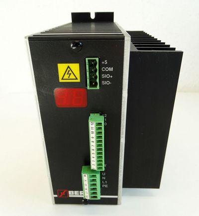 BERGES COMPACT 0,75 KW  0,75 kW/1,5 kVA Frequenzumrichter -used- – Bild 2