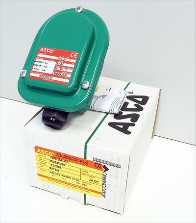 ASCO Joucomatic Magnetventil 24V DC  WPE262C23  0-6 Bar  - unused - in OVP – Bild 1