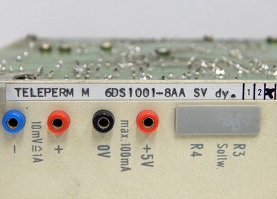 Siemens Teleperm M 6DS1001-8AA SV dy.  Power-Supply-Module   E:03  - used - – Bild 4