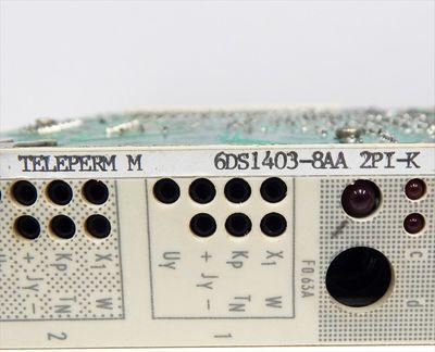 Siemens Teleperm M 6DS1403-8AA 2PI-K Reglerbaugruppe Ausg:16  - used - – Bild 3