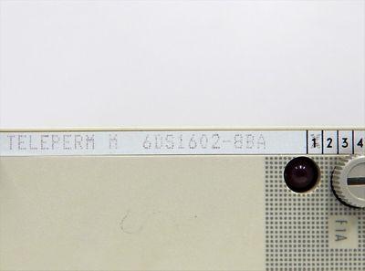 Siemens Teleperm M 6DS1602-8BA Digital-Input-Module E:01  - used - – Bild 4