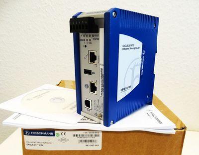 HIRSCHMANN Eagle 20 TX/TX  943987-001 Industrial Security Router -unused/OVP- – Bild 1