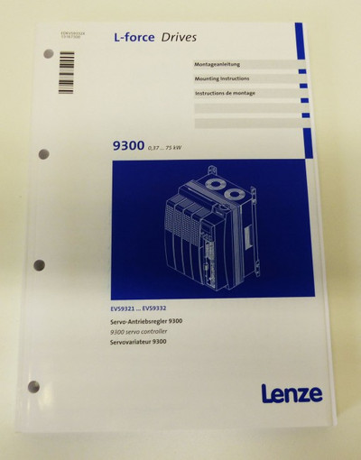 Lenze EVS9325-CSV003 13190886 -unused/OVP- – Bild 4
