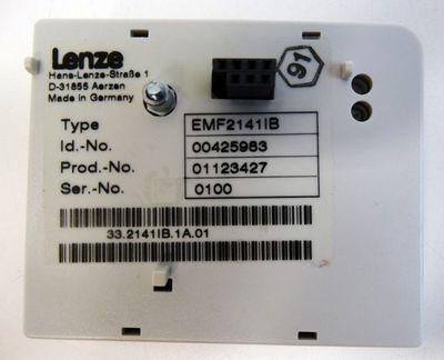 Lenze LON Modul EMF2141IB Id. No. 00425983 Feldbusmodul -unused/OVP- – Bild 3