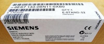Siemens Digital IN/OUT Mod. 6ES7 133-0BN11-0XB0 6ES7133-0BN11-0XB0 E:02 -sealed- – Bild 2