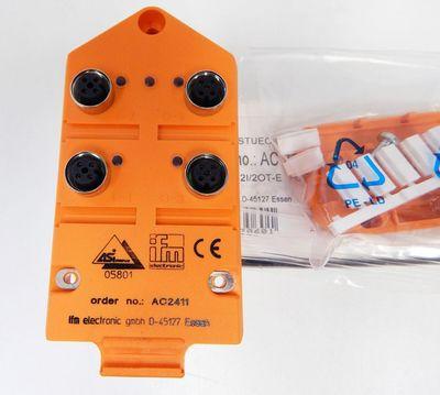 Ifm electronic AC 2411 AC2411 CompactLine M12 2I/2OT-e FC  - unused - in OVP – Bild 2