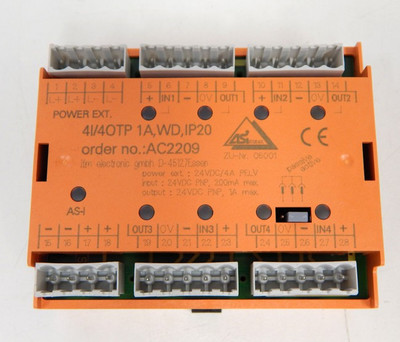 Ifm AC 2209 AS-i Modul 4E/4A  - unused - in OVP – Bild 2
