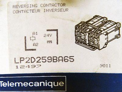 Telemecanique LP2 D259BA65 LP2D259BA65 40A 660V Reversing Contactor -unused/OVP- – Bild 3